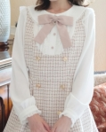 ピンク(ホワイトxピンク)(110)