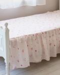 FOOTボードがあるベッドでも折り畳んでご使用できます